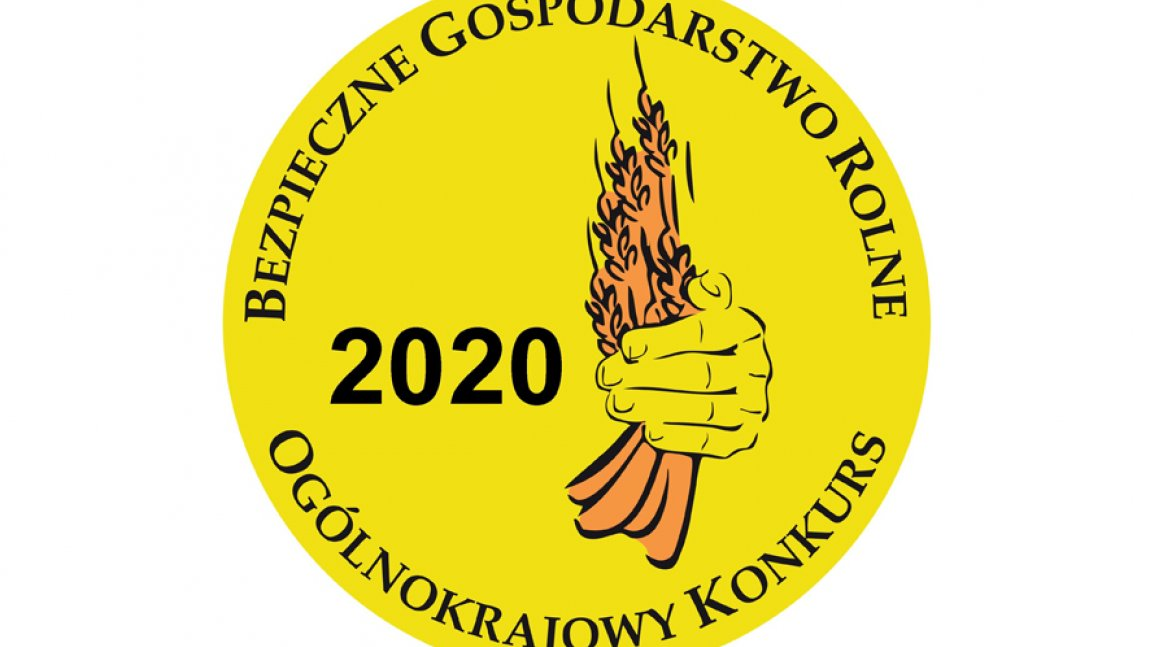 Logo Ogólnokrajowego Konkursu Bezpieczne Gospodarstwo Rolne