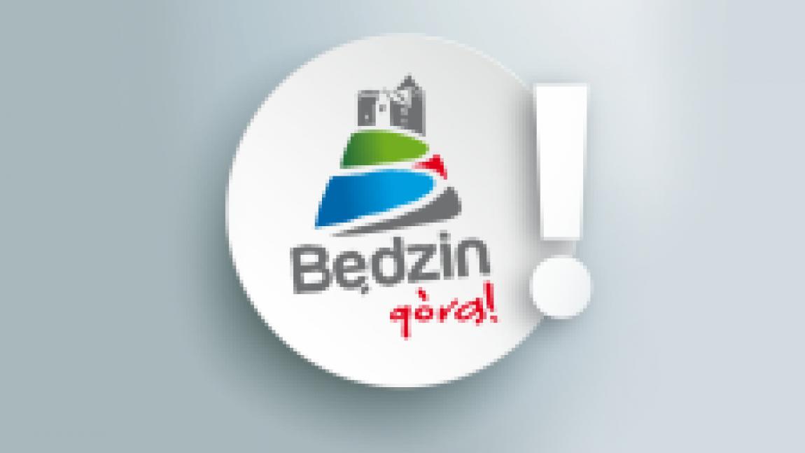 Logo Będzin z wykrzyknikiem