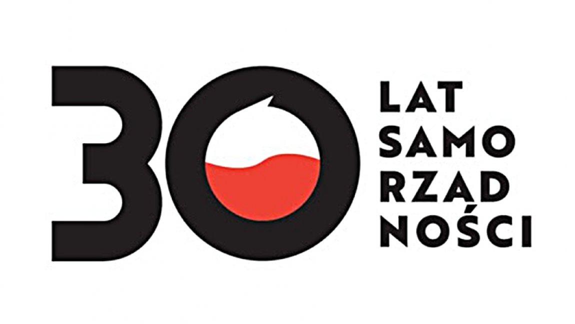 Logo 30 lat Samorządności