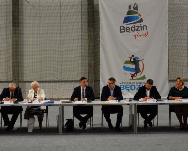 Członkowie Śląskiego Zarządu Gmin i Powiatów na posiedzeniu w Będzinie