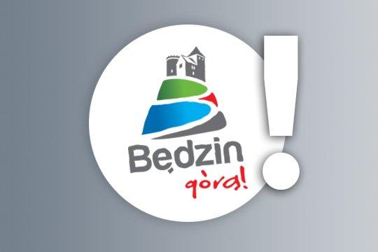 Logo Będzin górą z wykrzykninkiem